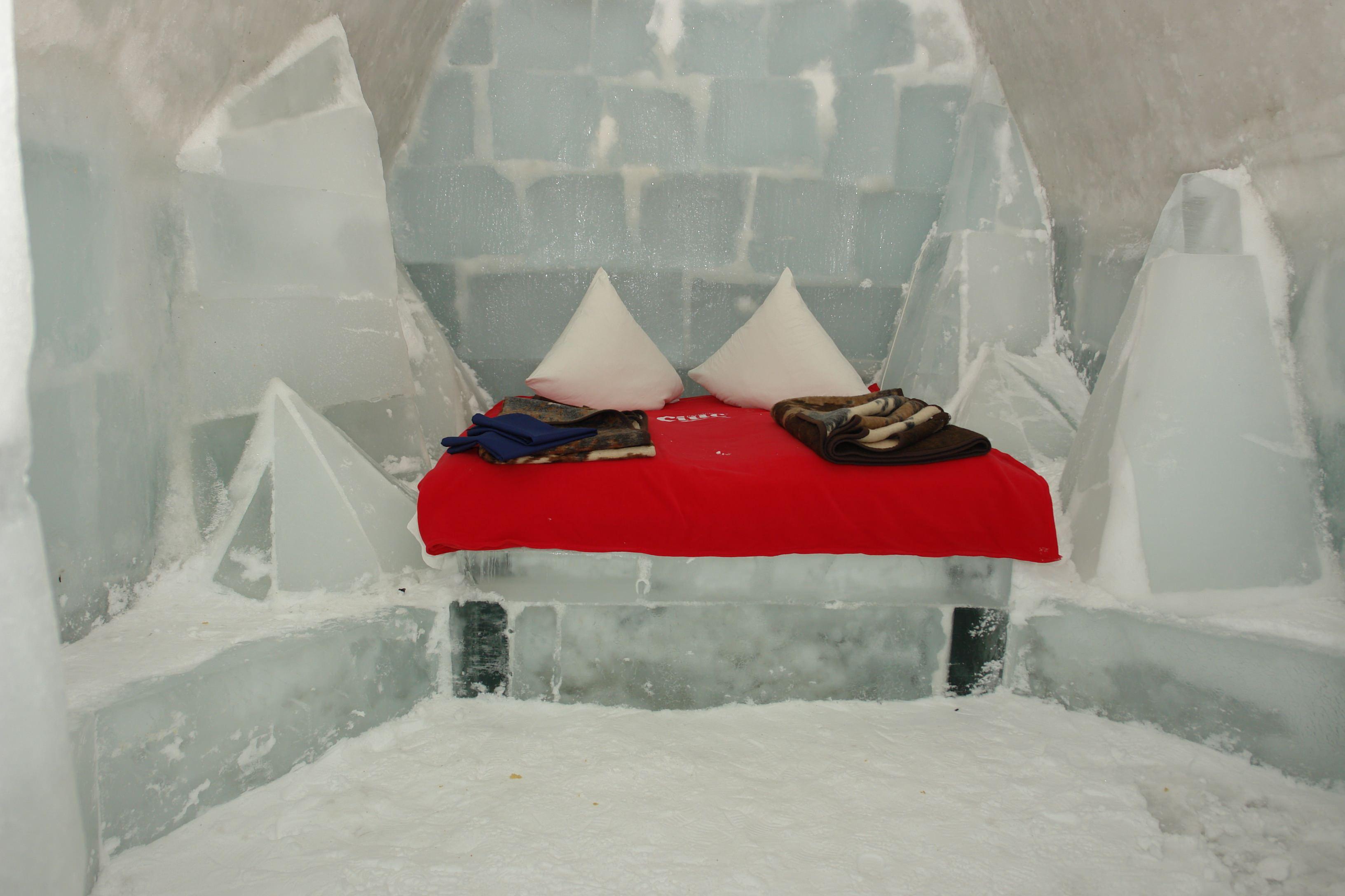 Camera Ice Hotel