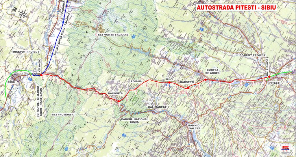Contestație admisă pentru S.F.-ul autostrăzii Sibiu – Pitești. Licitația va fi reluată!