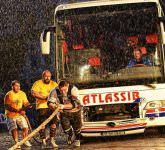 proba de tras un autocar la Strongman Champions League Piata Mare