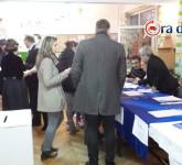 sibienii la vot la alegerile prezidentiale 1