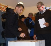 sibienii la vot la alegerile prezidentiale 27