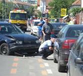 accident strada iorga sibiu 2