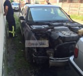 masina incendiata sibiu 12