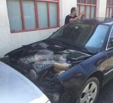 masina incendiata sibiu 4