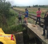 taxi lovit de tren sibiu 1
