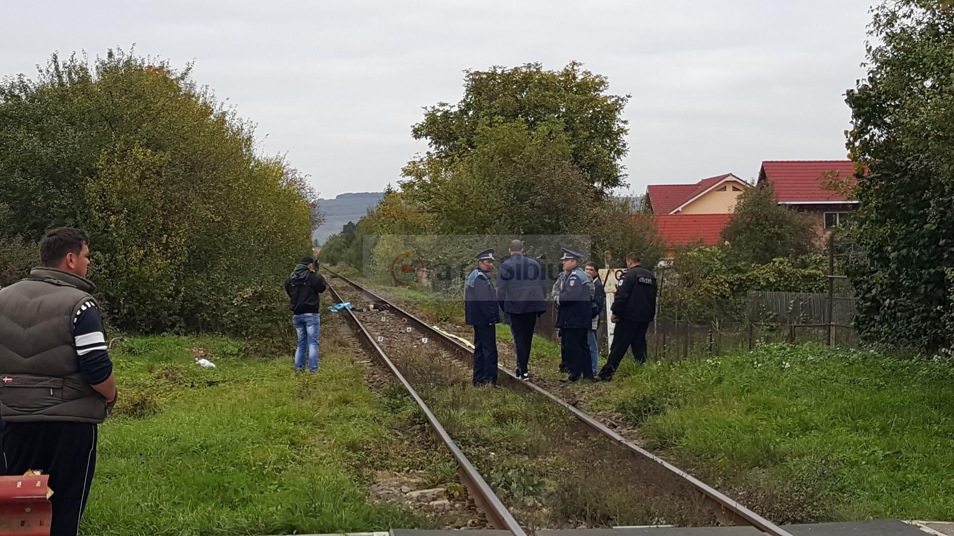 Barbat omorat de tren la Sibiu 110