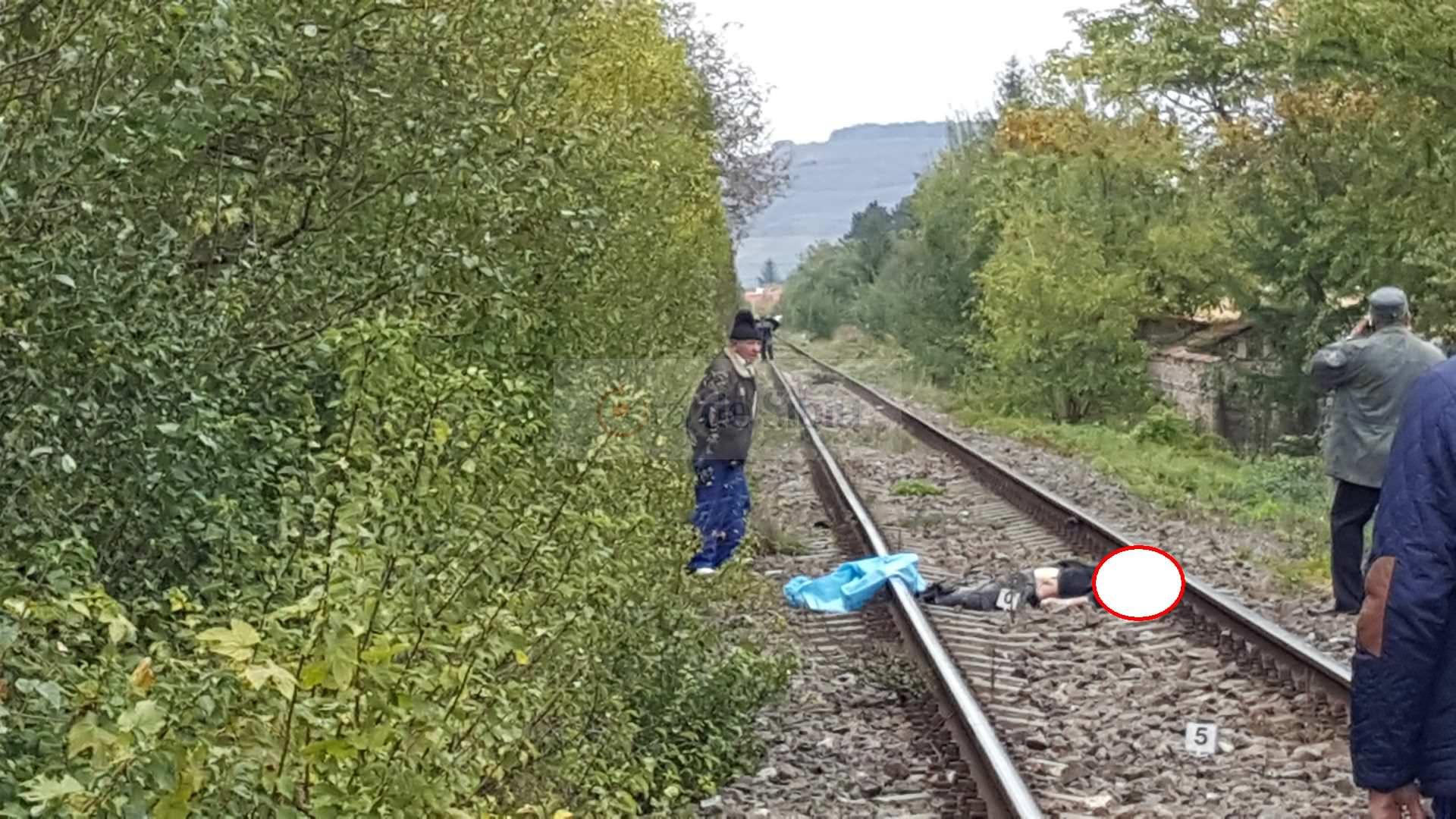Barbat omorat de tren la Sibiu 152