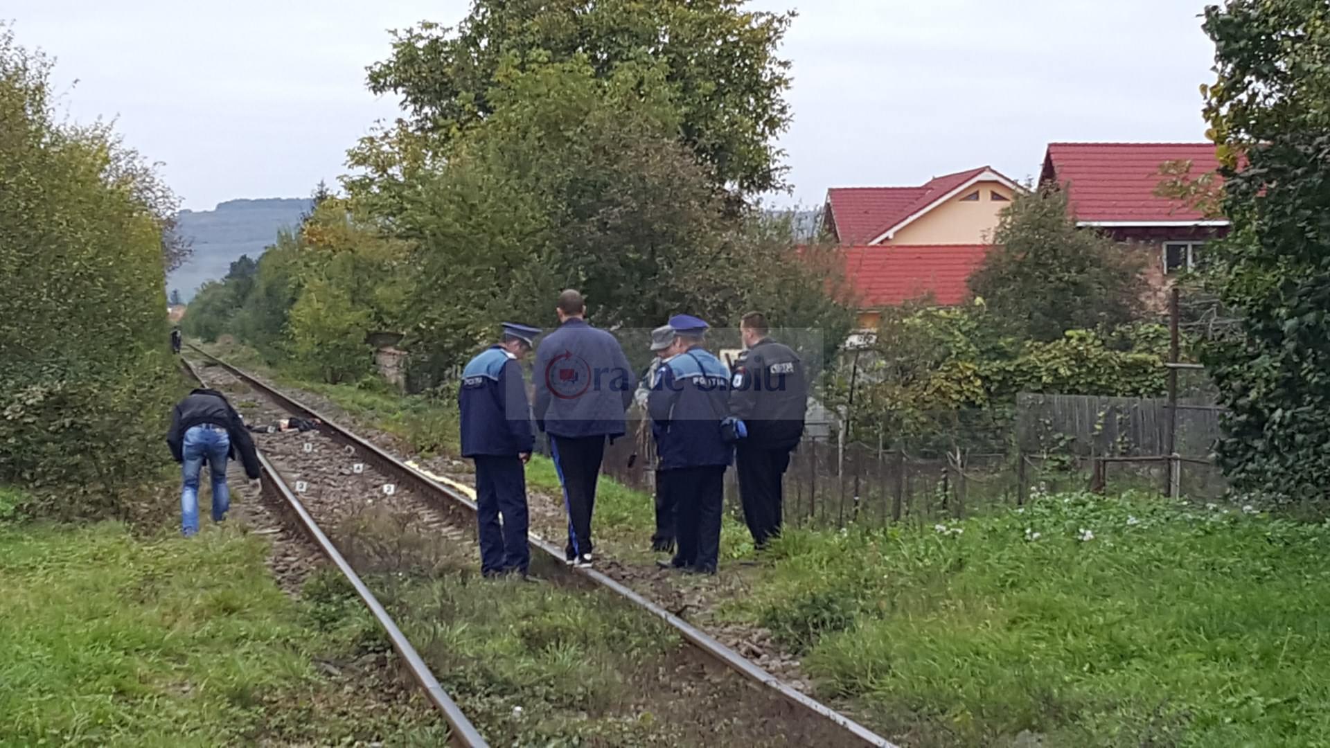 Barbat omorat de tren la Sibiu 203
