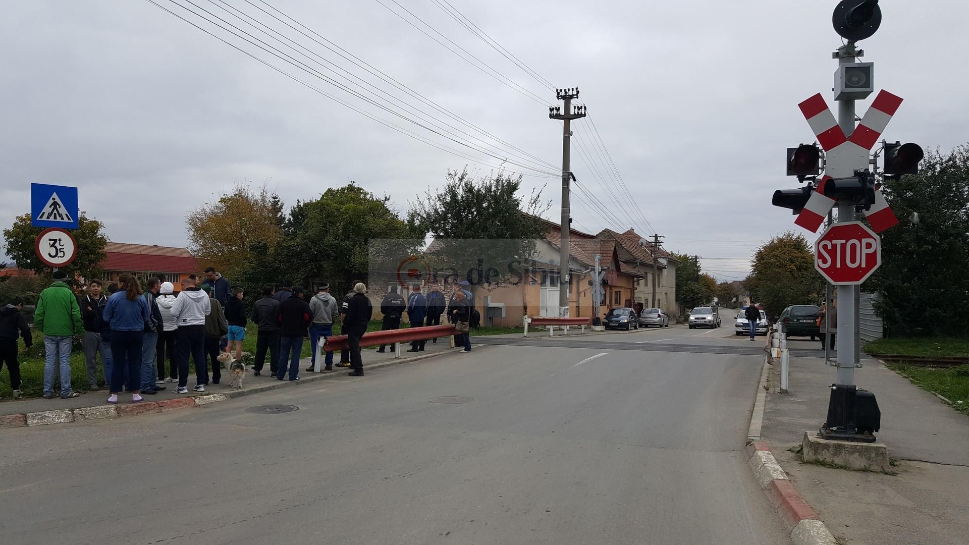 Barbat omorat de tren la Sibiu 21
