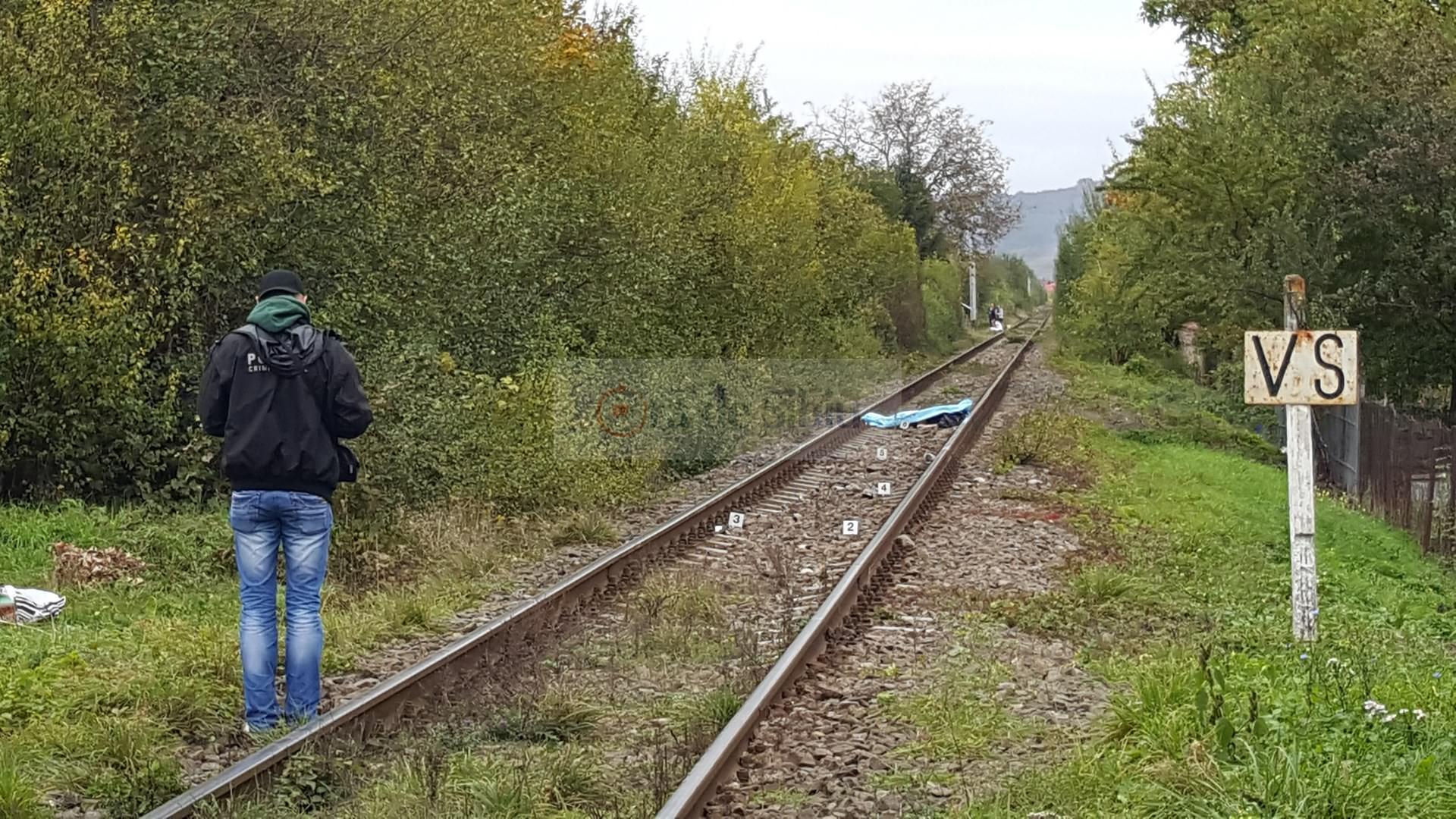 Barbat omorat de tren la Sibiu 31