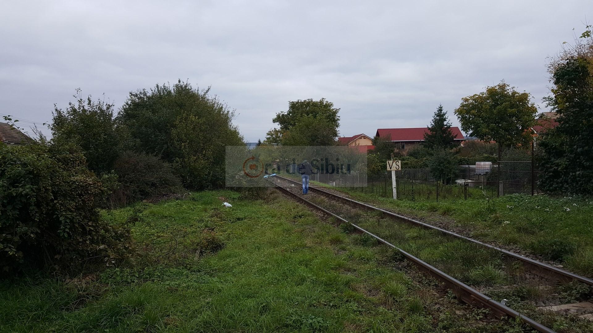Barbat omorat de tren la Sibiu 51