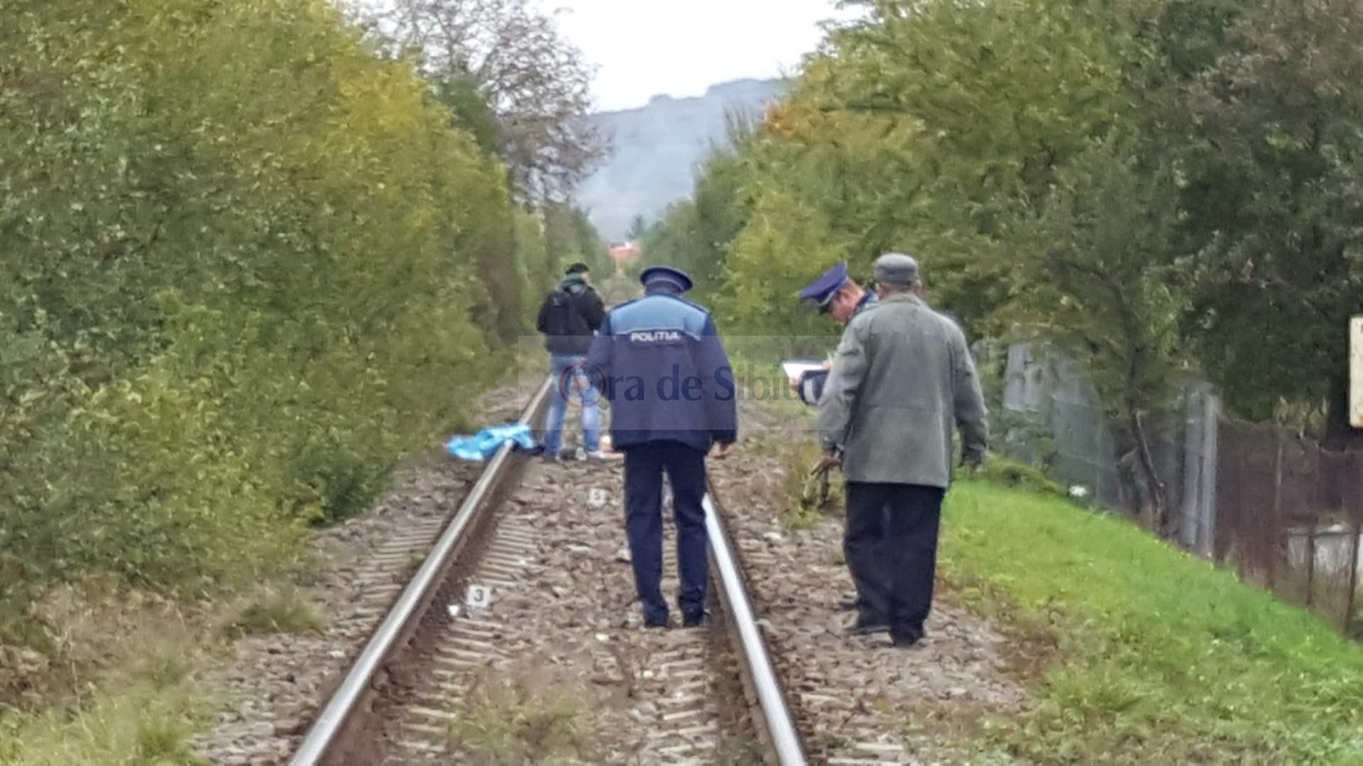 Barbat omorat de tren la Sibiu 71