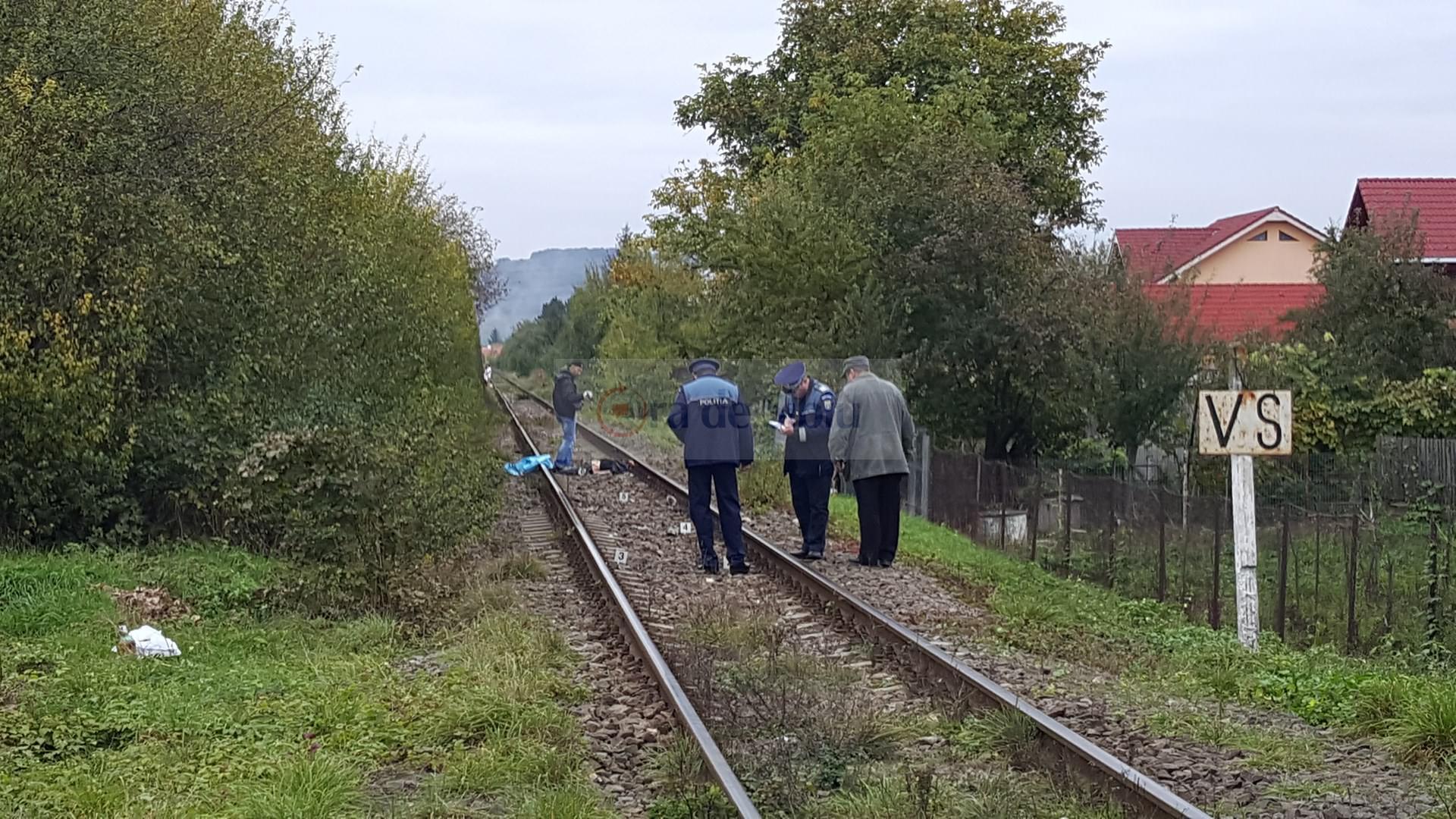 Barbat omorat de tren la Sibiu 81