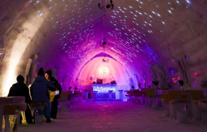 hotelul de gheata balea lac sibiu