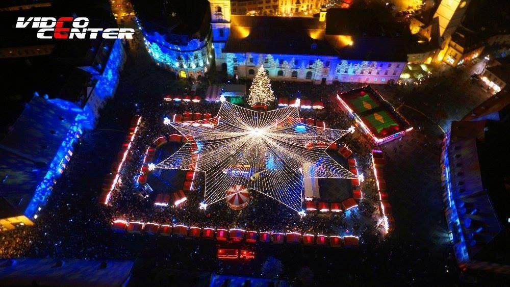 targul de craciun din sibiu foto Video Center Sibiu 3