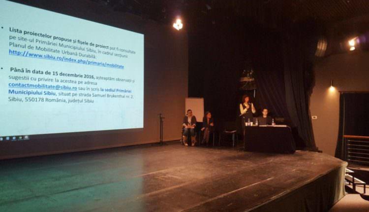 planul de mobilitate urbana dezbatere Teatrul Gong
