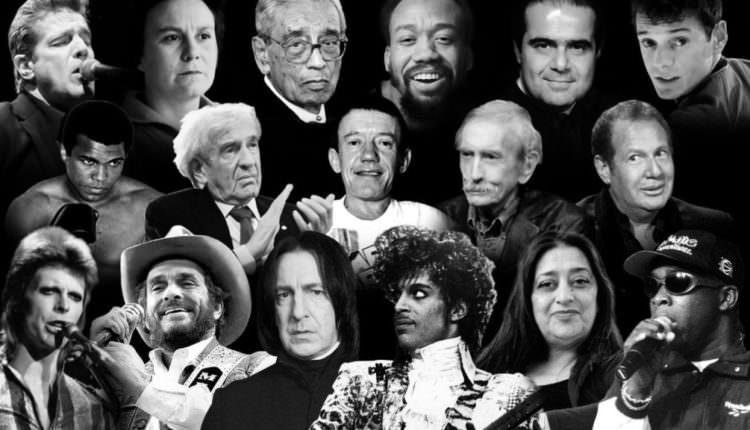 Vedetele care au murit în 2016 – Marile staruri pe care le-am pierdut în acest an. De la George Michael la Carrie Fisher, Price, David Bowie și mulți alții