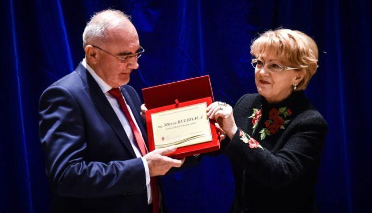 FOTO – Afaceristul Mircea Bulboacă a primit titlul onorific de Ambasador al Sibiului