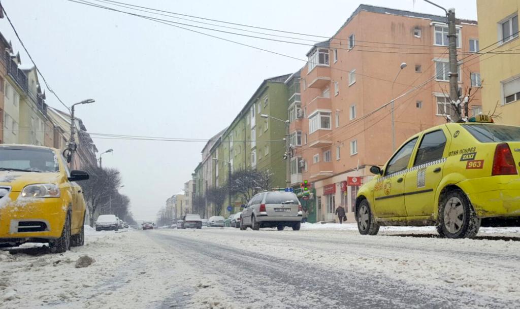 strazi zapada sibiu iarna
