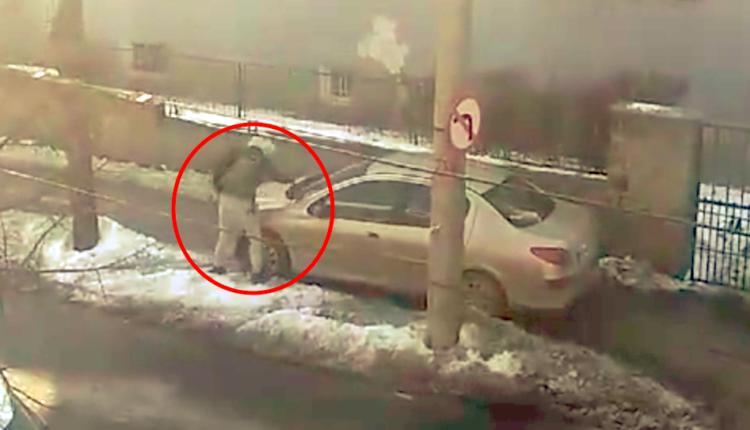 VIDEO – FOTO Mașină vandalizată pe strada Independenței. Cine are dreptate în acest caz?