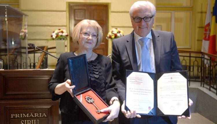 FOTO – Un cetățean de onoare al Sibiului este noul președinte al Germaniei
