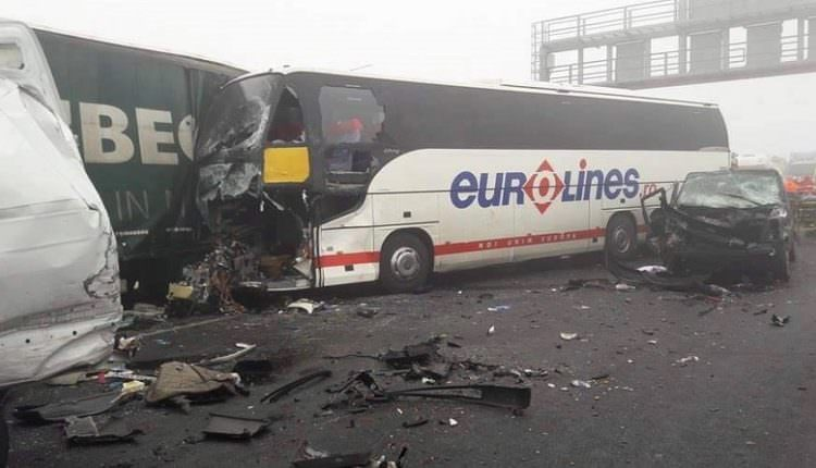 Accidentul cu cinci morți din Ungaria: Autocarul implicat aparține unei firme din Sibiu