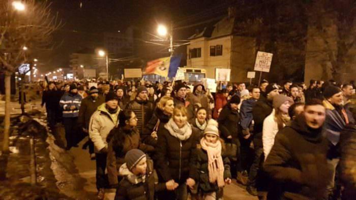 protest c dumbravii