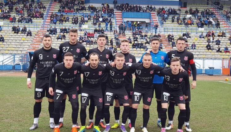 VIDEO – FC Hermannstadt a învins satelitul lui Gaz Metan Mediaș. Bucurie la final în vestiar
