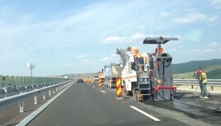 Trafic restricționat la kilometrul 366 al autostrăzii Sibiu – Deva din cauza unor lucrări