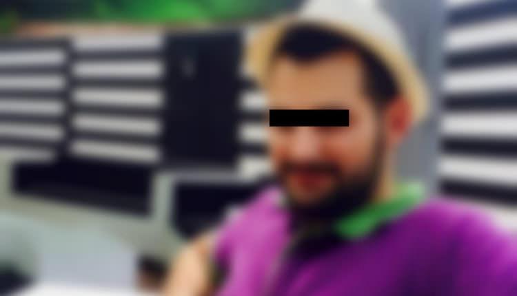 FOTO Teribilistul urmărit de poliție – Are 25 de ani, este din Cisnădie și nu vroia să fie filmat
