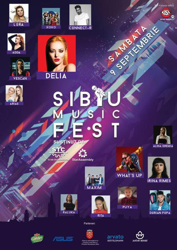 Afis Sibiu Music Fest