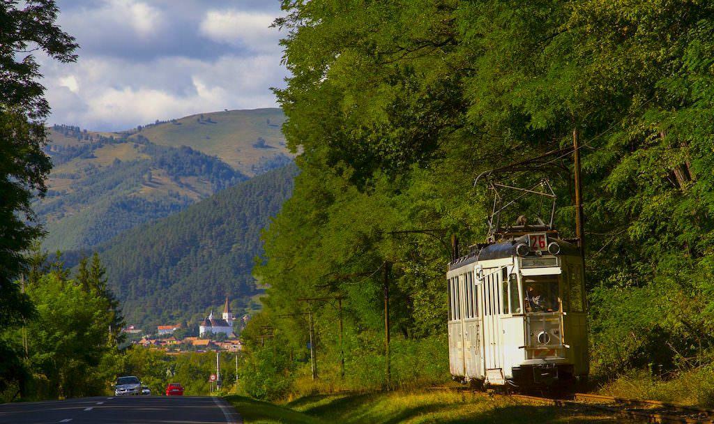 tramvai turistic Rasinari SibiucDanielSecarescu