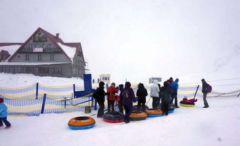 Winterpark balea lac