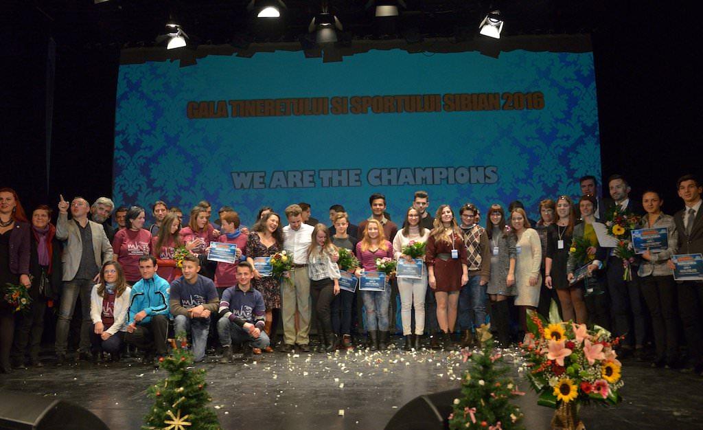 gala tineretului sibian se ține marți la gong concertează