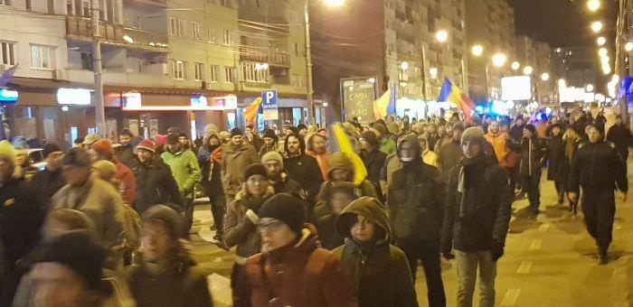 protest sibiu 22 februarie