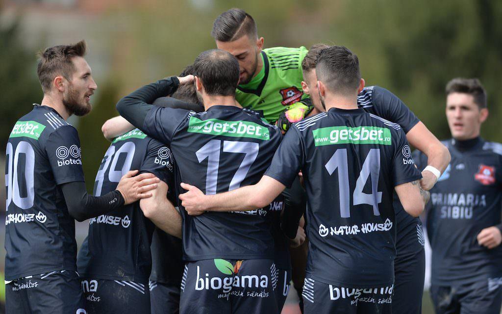 FC Hermannstadt primește vizita echipei Știința Miroslava