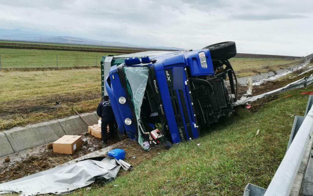 accident camion autostrada 3