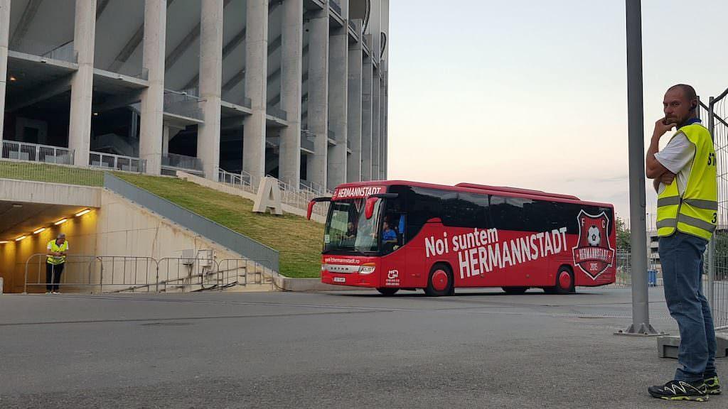 fc hermannstadt autocar