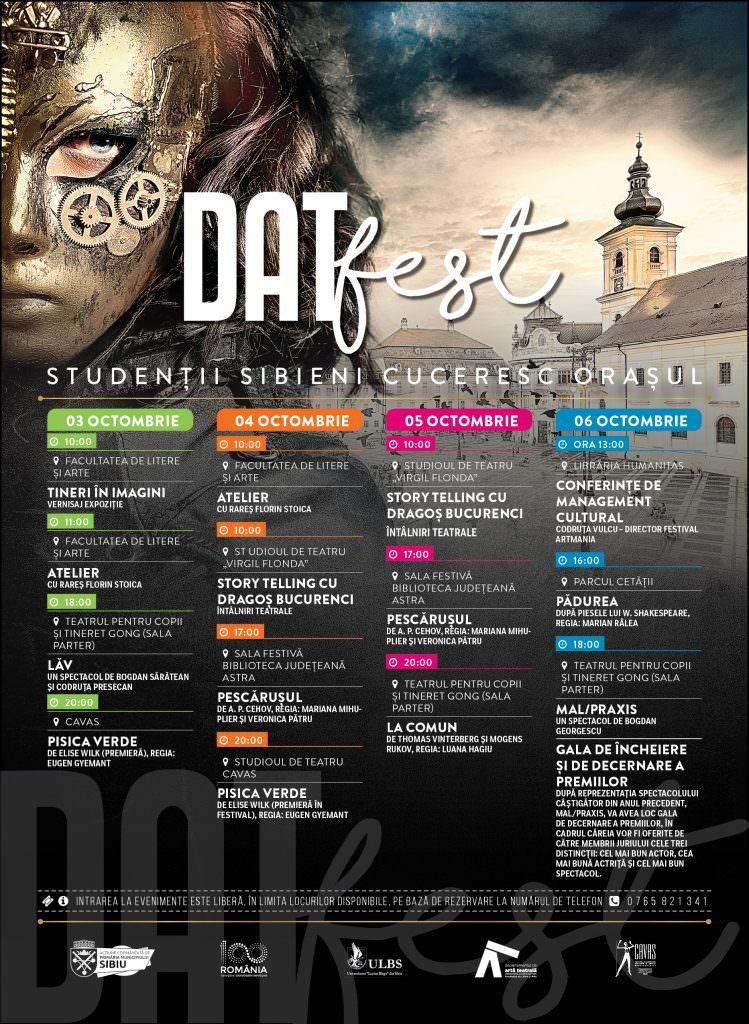 DATfest program