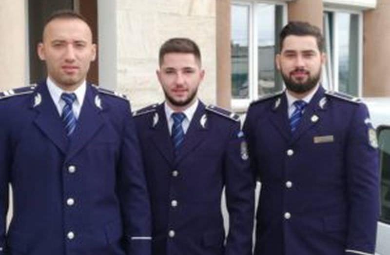 Politisti Alba Iulia talharie