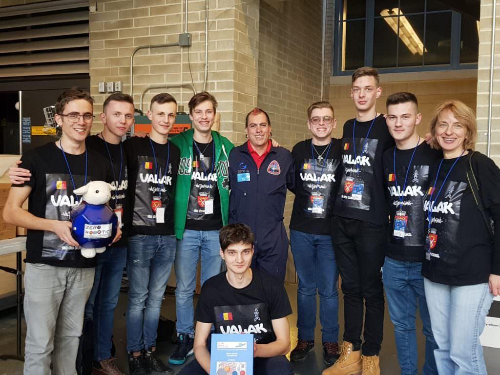 echipa elevi goga concurs NASA SUA