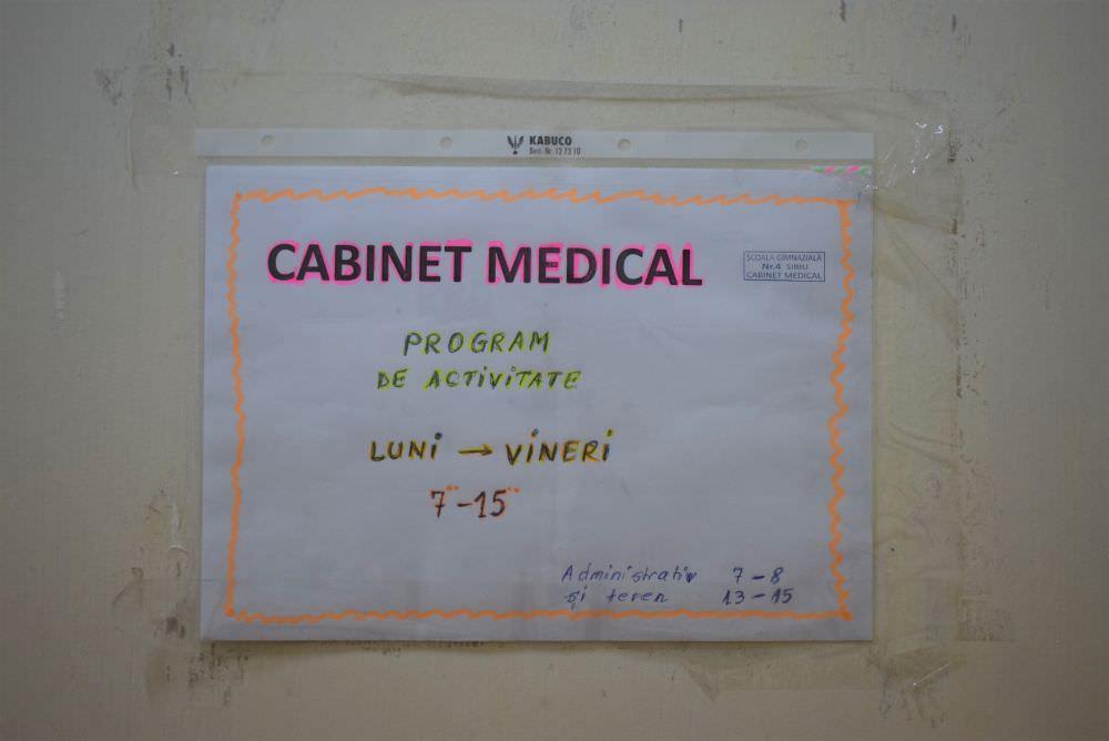 foto afis cabinet medical scolar