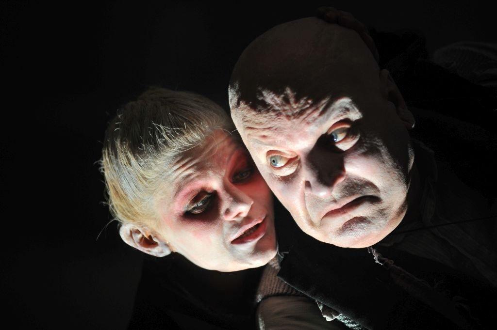 Faust regia Silviu Purcărete cu Ofelia Popii și Ilie Gheorghe 2