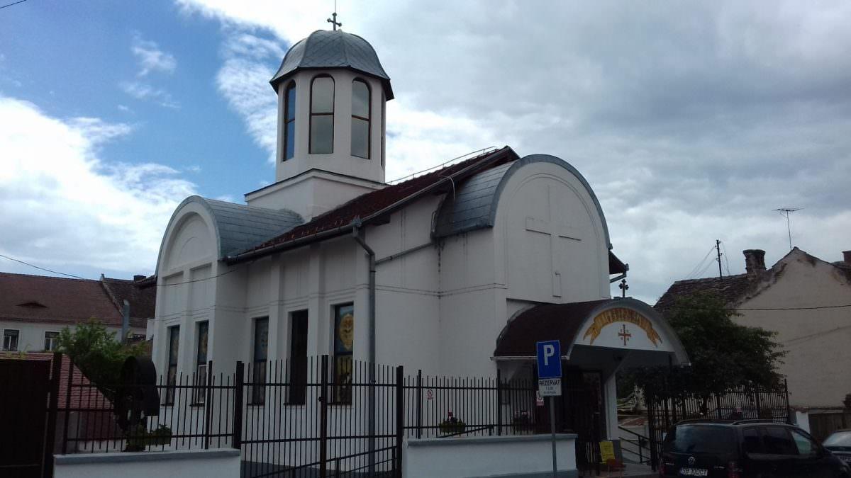 foto biserica strada dealului sibiu