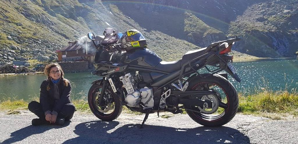 moto feminin
