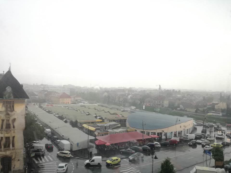 ploaie sibiu