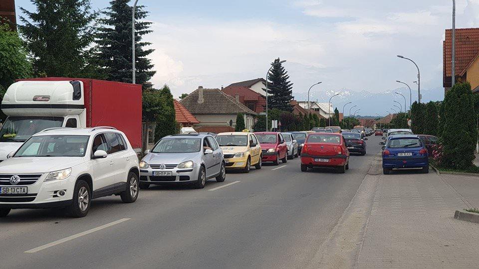 accident trafic blocat1