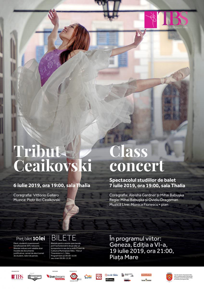 afis Tribut CeaikovskiClass Concert