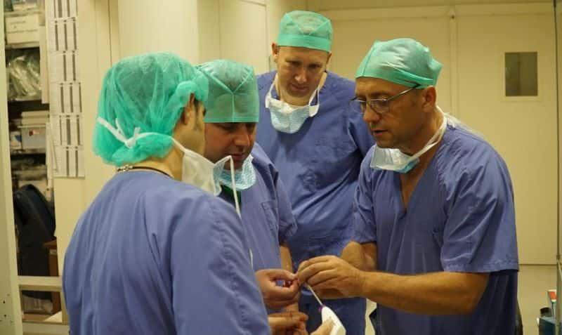 Echipa medicala premiera Bulgaria 2
