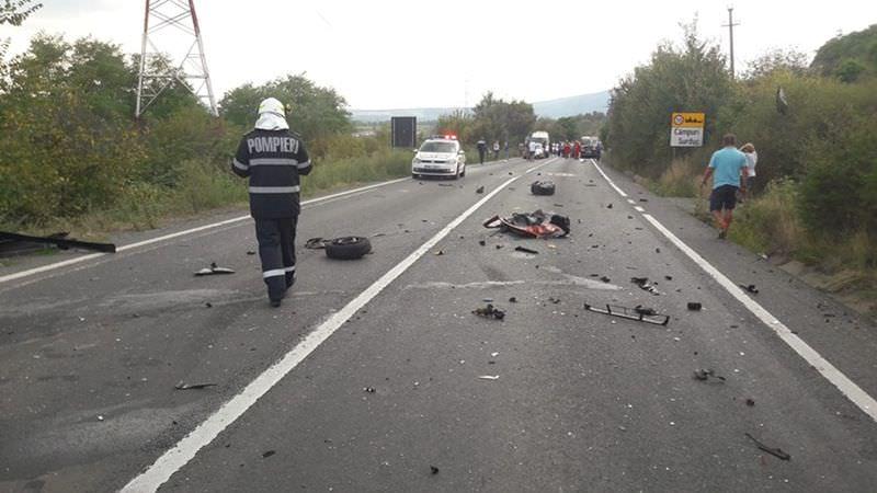 accident masini zdrobite 1